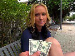 Русское порно трахает за деньги
